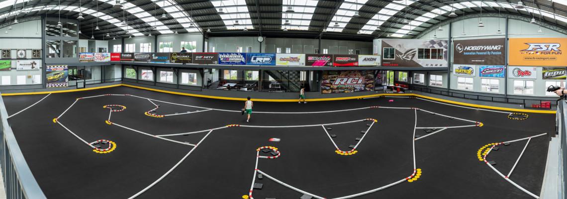 ShangeHai RCI V3 RC Racing Track