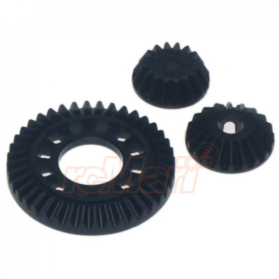 TB04 One-Way Gear Differential Unit Ring Gear Set (40T)