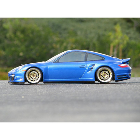 1/10 200mm Porsche 911 Turbo 997 Clear Touring Body