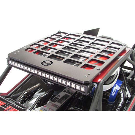 White Desert Torch Plus Roof Rack Combo For Axial Yeti XL