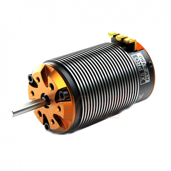 SKYRC TORO X8 4 Pole 2150KV Competition PRO Brushless Motor For 1/8 Buggy
