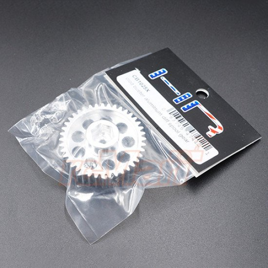 Aluminum Diff Spool Gear Silver For Tamiya Clod Buster Super Clod Buster