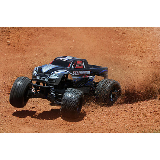 Stampede 4X4 VXL 1/10 4WD RTR Monster Truck w/ TQi  Link Enabled 2.4GHz Radio System & TSM