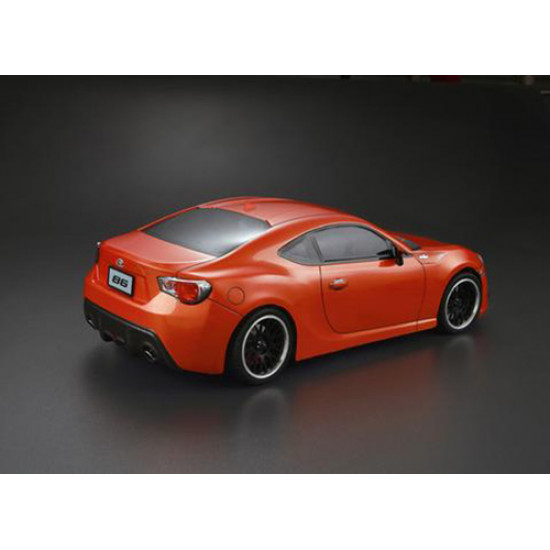 195mm Toyota 86 Clear Body Set For 1/10 RC Touring Drift
