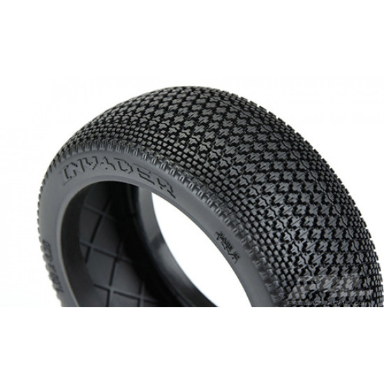 S3 Compound Soft Invader Off-Road Tires 2 pcs w/ Closed Cell Inserts For 1/8 Buggy