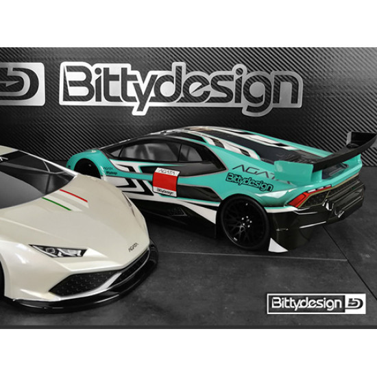 AGATA 190mm Clear Body Set For 1/10 GT