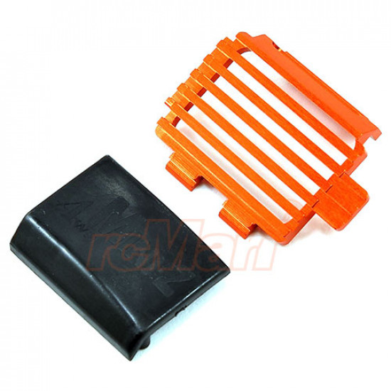 Mini-Z AWD Aluminum Motor Cover Orange