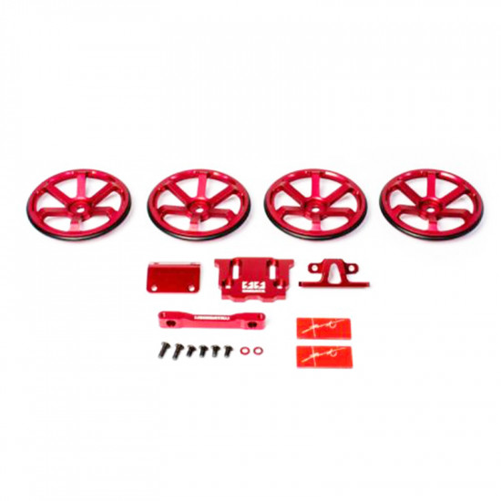 GRK4 1/10 RWD Drift RC Car Chassis Kit D1 Grand Prix Entry Commemorative Limited Model Red Edition EP