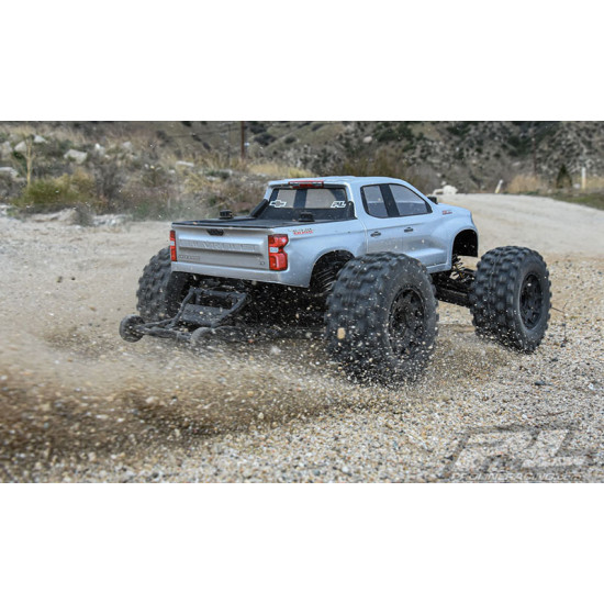 Pre-Mounted Badlands MX28 Belted 2.8inch M2 Compound Truck Tires 2 pcs For Traxxas Stampede Rustler Jato