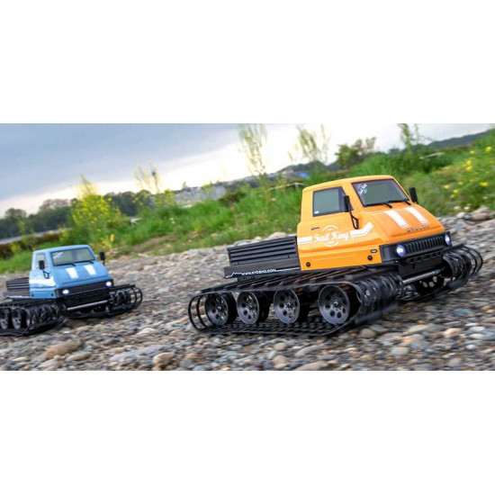 1/12 Belt Vehicle Trail King Color Type 2 Blue RTR Readyset EP w/ 2.4GHz Radio