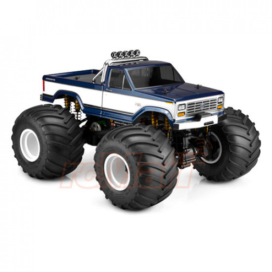1989 Ford F-150 California Monster Truck Clear Body Set For Traxxas Stampede