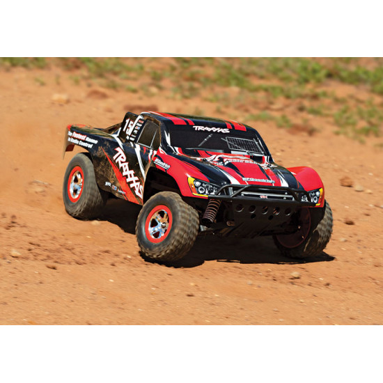 Slash 1/10 RTR 2WD Short Course Truck Red w/ XL-5 ESC TQ 2.4GHz Radio Battery & DC Charger