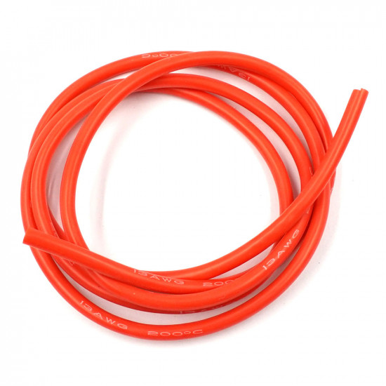 Silicone Wire 13AWG 1m Red