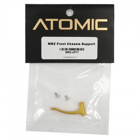 MRZ Aluminum Front Chassis Support Set Gold