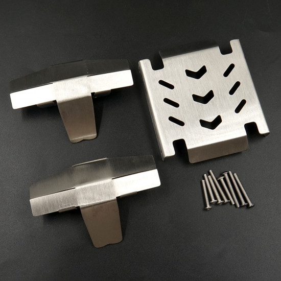 Stainless Steel Protector Set For LOSI LMT 4WD Monster Truck