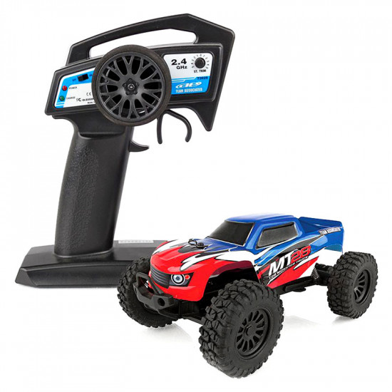 MT28 1/28 RTR 2WD Mini Electric Monster Truck w/ 2.4GHz Radio