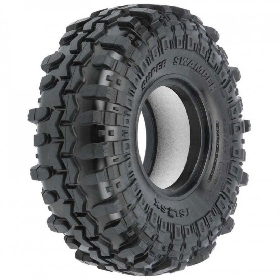 Predator Super Swamper TSL SXII 1.55inch Tires 2 pcs For 1/10 RC Crawler