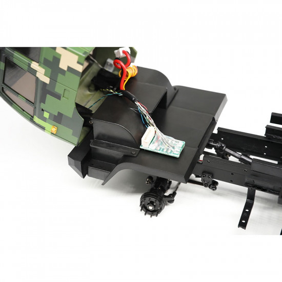 1/32 4WD Full Leaf Spring Military Tractor Truck Kit