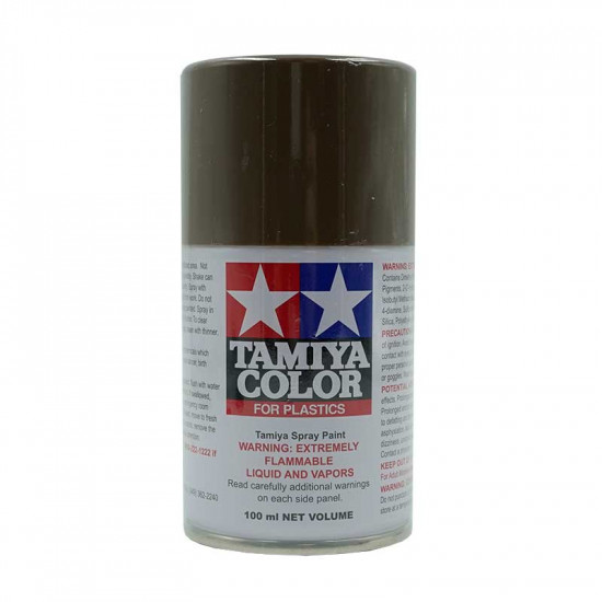 TS90 Brown JGSDF Lacquer Spray Paint 100ml