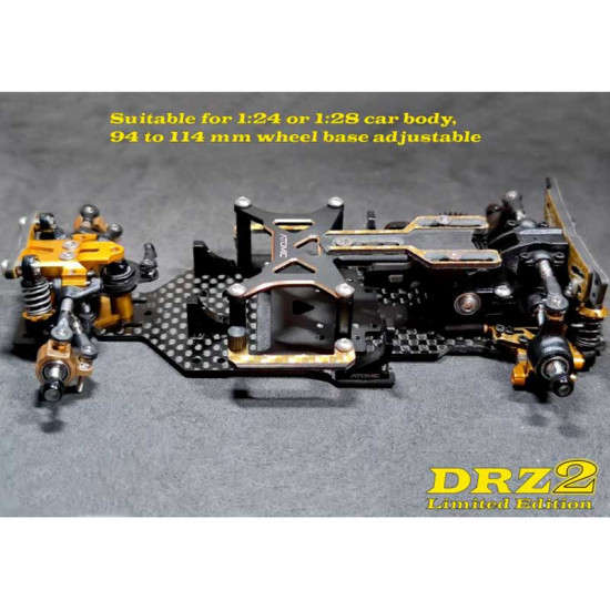 1/28 DRZV2 Limited Edition RWD Drift Chassis Kit w/o Electronic