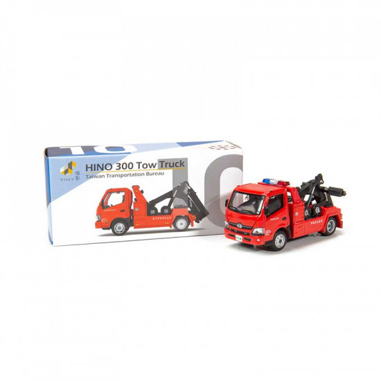 City TW10 1/64 Hino 300 Taiwan Tow Truck Diecast Scale Model Car