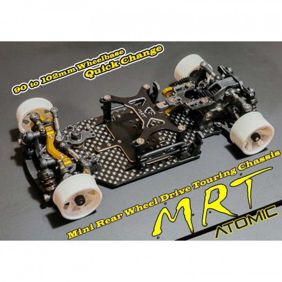 1/28 MRT Pro RWD Touring Chassis Kit EP w/o Electronic