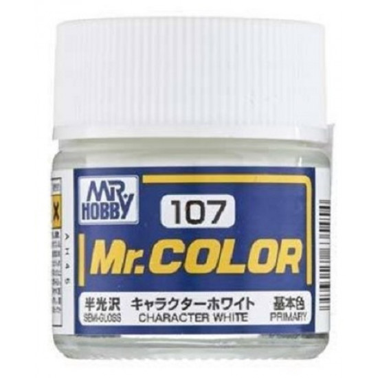 Mr. Color Lacquer No.107 Character White