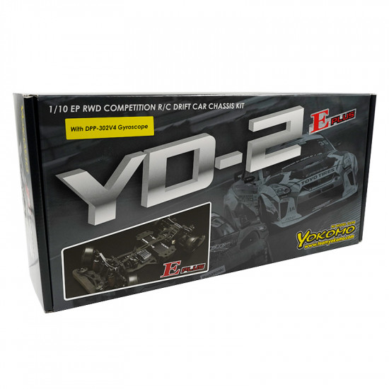 1/10 YD-2E Plus RWD EP Competition Drift Car Chassis Kit Black w/ V4 Gyro Special Limited Version