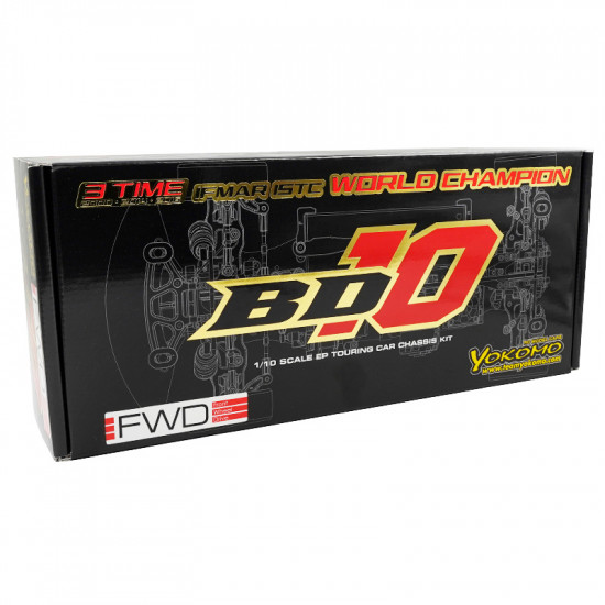 1/10 BD10F Competition FWD Touring Car Kit EP